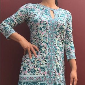 BCBGMAXAZRIA Floral Tunic Dress NWOT